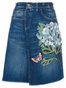 Dolce & Gabbana denim skirt - Blue