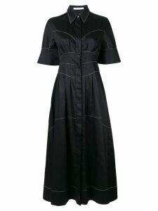 CAMILLA AND MARC Rubin contrast stitch dress - Black