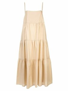 Matteau tiered summer dress - Brown