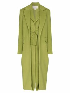 Matériel Double layer wool coat - Green