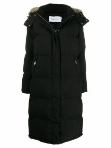 Calvin Klein long puffer jacket - Black