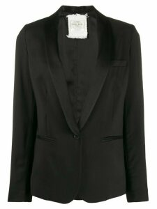 Forte Forte fitted single-breasted blazer - Black