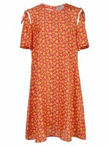 Jonathan Cohen Aranda Orchid print dress - Red