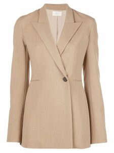 The Row boxy fit buttoned blazer - Brown
