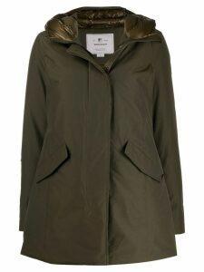 Woolrich hooded padded jacket - Green