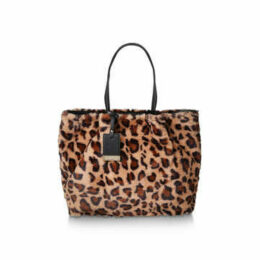 Carvela Furly Large Tote - Leopard Print Tote Bag
