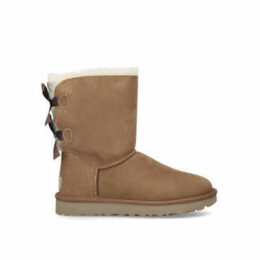 Ugg Bailey Bow Ii - Tan Ugg Boot With Double Bow At The Back