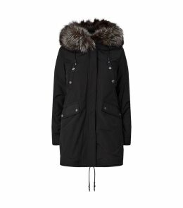 Reversible Fur-Lined Parka