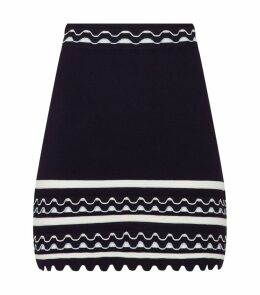 Scalloped Isibel Mini Skirt