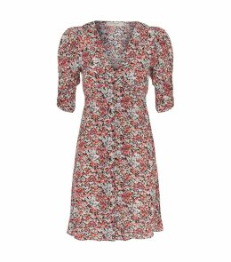 Malie Wilde Ruched Floral Dress