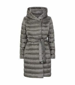 Mid-Length Reversible Down-Padded Coat