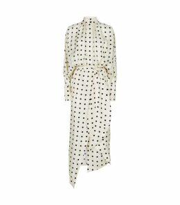 Dublin Polka-Dot Print Dress