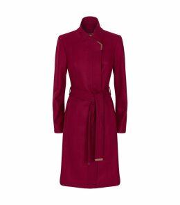 Belted Ellgenc Wrap Coat