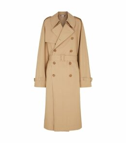 Double-Breasted Oversized Trench Coat
