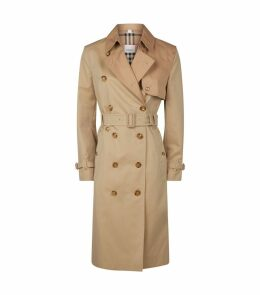 Gabardine Two-Tone Herne Trench Coat