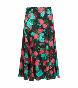 Vesper Floral Midi Skirt