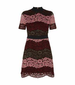 Jaseyy Lace Panelled Tea Dress