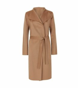 Lima Wool-Cashmere Belted Coat