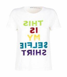 Rylyn Embellished Slogan T-Shirt