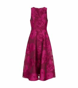 Wylieh Sleeveless Floral Dress