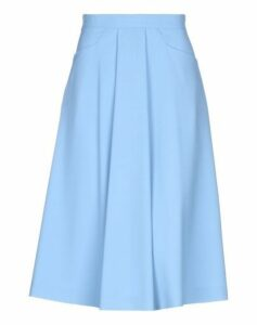 BLUE LES COPAINS SKIRTS 3/4 length skirts Women on YOOX.COM