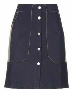 MAISON KITSUNÉ SKIRTS Knee length skirts Women on YOOX.COM