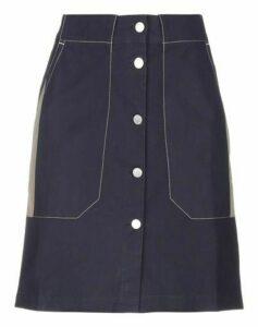 MAISON KITSUNÉ SKIRTS Knee length skirts Women on YOOX.COM