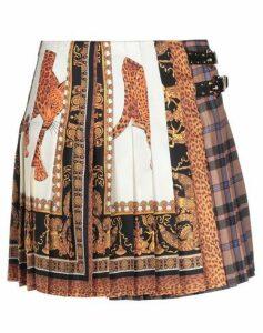 VERSACE SKIRTS Mini skirts Women on YOOX.COM