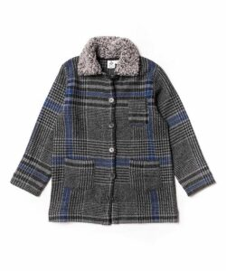 Check Winter Jacket 4-8 Years