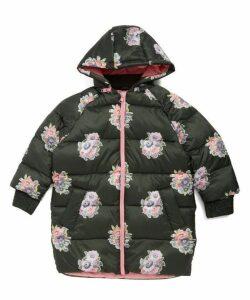 Flower Bouquet Puffer Jacket 2-8 Years