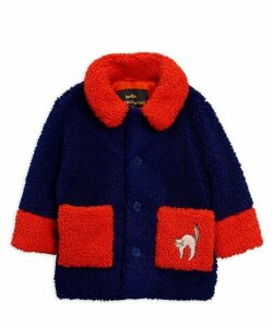 Faux Shearling Cat Jacket 2-8 Years