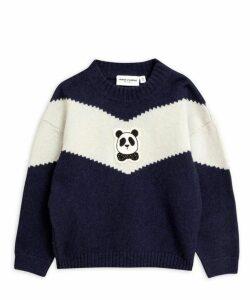 Panda Knitted Wool Sweater 2-8 Years