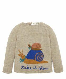Take It Slow Raglan Sweater 4-6 Years