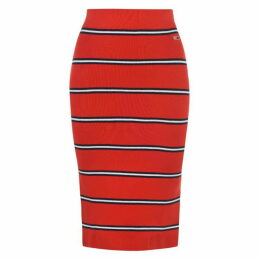 Tommy Jeans Stripe Midi Skirt