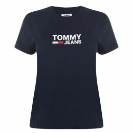 Tommy Jeans Corporate Logo T Shirt