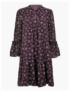 M&S Collection Printed Relaxed Mini Dress