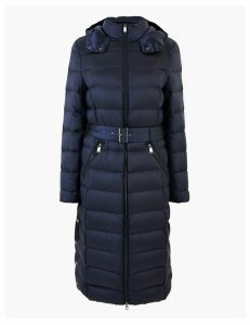 M&S Collection Feather & Down Belted Coat