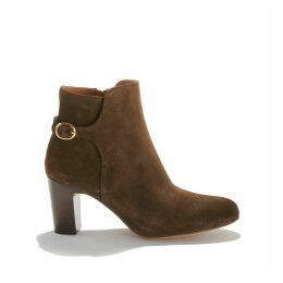 Gedeon High-Heeled Boots in Suede