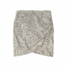 FLOWER Sequin Skirt