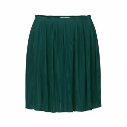 Short Pleated Skirt