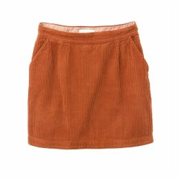 NILA Straight Corduroy Skirt