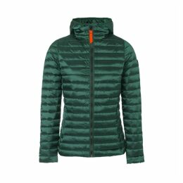 Francine Shiny Padded Jacket with Hood