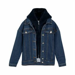 DEAN Denim Jacket with Integrated Hood