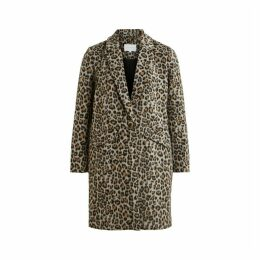 Leopard Print Straight Jacket