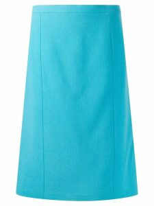 Chanel Pre-Owned 1990s A-line skirt - Blue