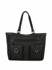 Gucci Pre-Owned Guccissima Abbey shoulder bag - Black