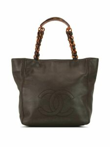 Chanel Pre-Owned CC tortoiseshell tote - Brown