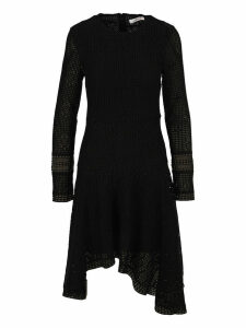 See by Chloé See By Chloe Wavy Long-sleeve Dress