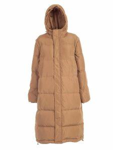 Ganni Padded Jacket W/hood And Pockets