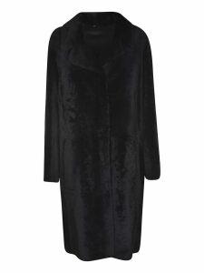 DROMe Fur Applique Coat